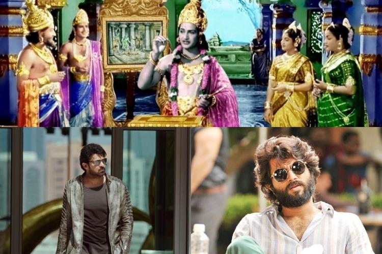 From Mayabazar to Saaho The genres which make superstars in Tollywood