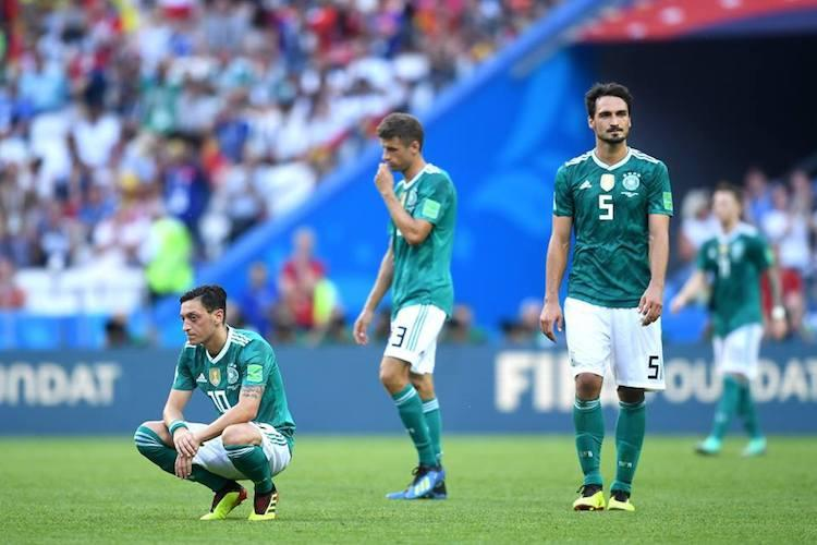 World Cup holders Germany crash out Sweden top Group F