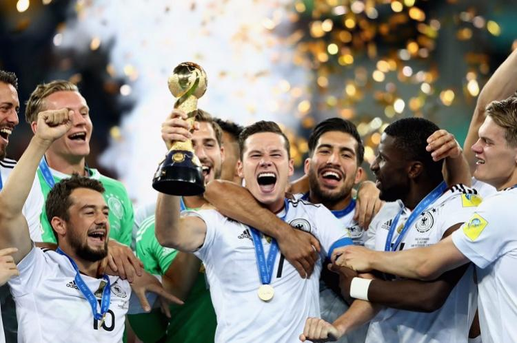 Germany overcome Chile to win Confederations Cup