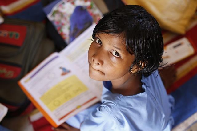 The girl in that image and why I am willing to pay more so my kids school can implement RTE