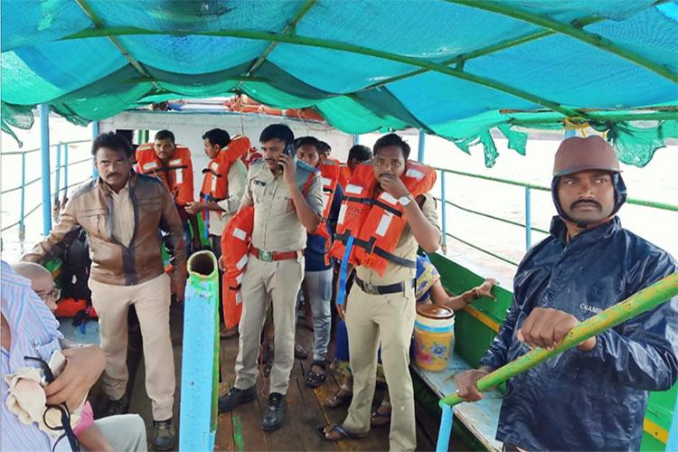 Live updates Major mishap in Andhra boat with 61 people capsizes in Godavari
