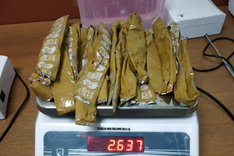 Gold seized from Kannur aiport by Customs