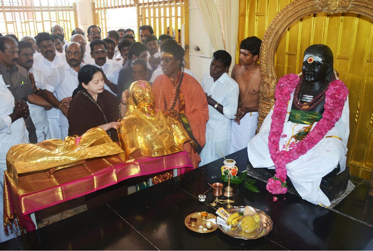 As AIADMK fights over symbol bank refuses to hand over golden armour for Thevar Jayanthi