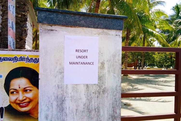 Golden Bay Resort shuts down for 2 days Maintenance work starts after MLAs leave
