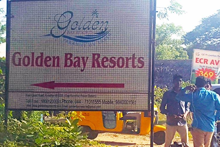 Day 5 at Golden Bay Resorts TVs and phones back as grip over AIADMK MLAs relaxes