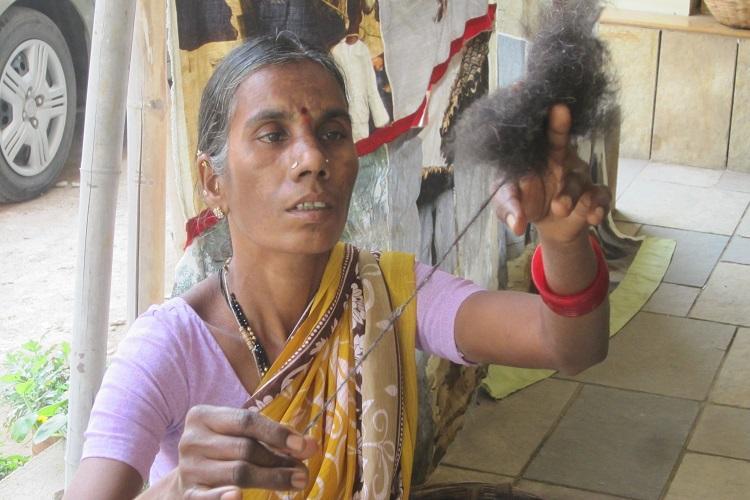 Reviving the Ba Ba Black Sheep of Telangana the yarn of the Gongadi blanket