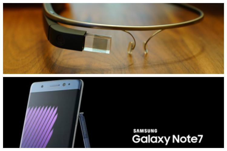 Are Google Glass Samsung Galaxy Note 7 tech failures of recent times