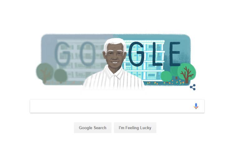 Google Doodle features renowned ophthalmologist Govindappa Venkataswamy