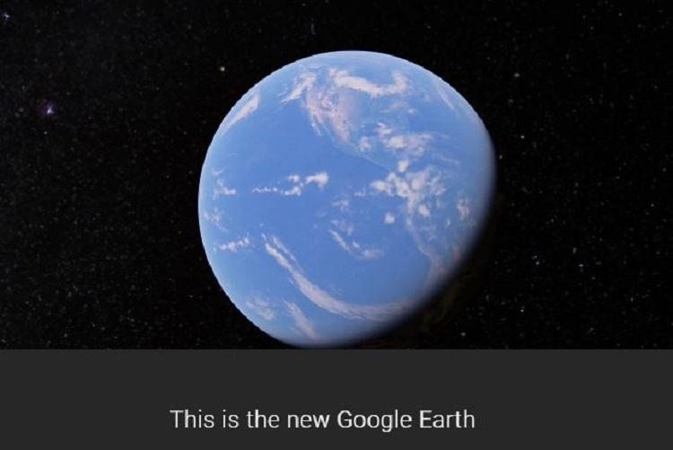 The new Google Earth is here and it lets you see the world without ever leaving your living room