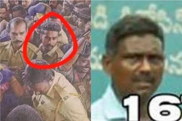 Kerala cops picture appears in Sabarimala suspects list police calls it a mistake