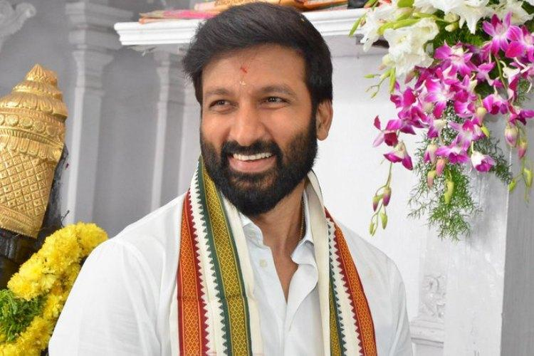Gopichand begins shooting for his next film produced by BVSN Prasad