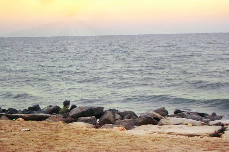 Beach lovers rejoice Puducherrys rocky waterfront to go providing easier access