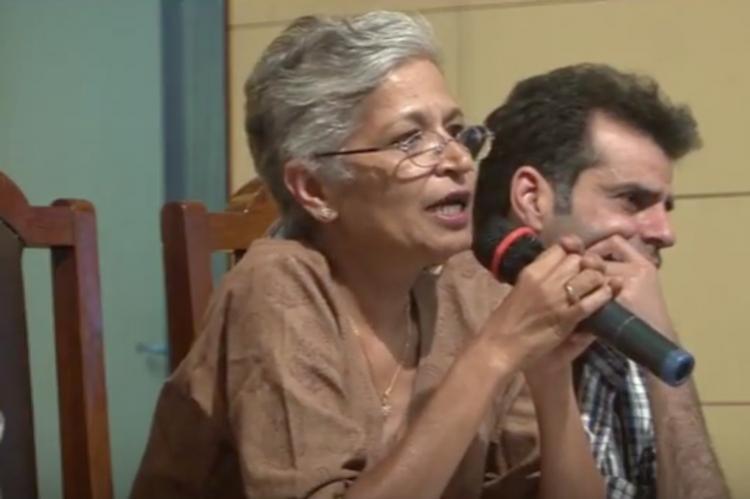 There was no threat to Gauri Lankeshs life says Karnataka DGP RK Dutta