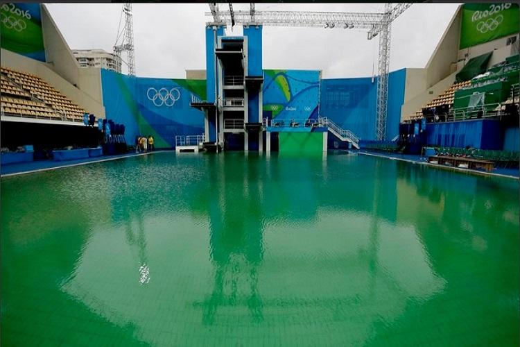Rio Olympics Organisers finally have an answer to why the water turned green