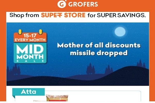 Grofers insensitive ad on Mother of All Bombs draws flak users outrage online