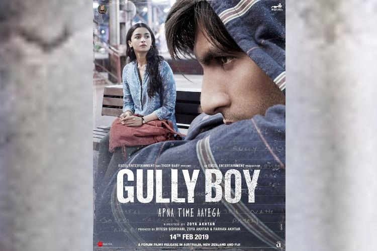 'Gully Boy' to Represent India In Oscars Race