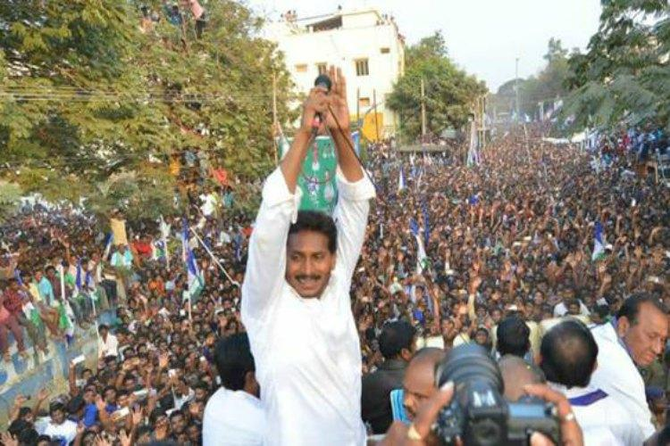 As Jagan yatra completes 1000 km, political turmoil at a