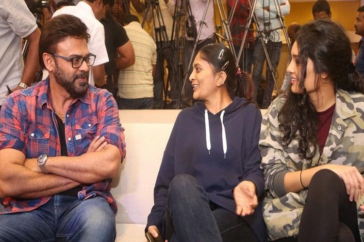 Director Sudha was adamant on having Venkatesh on board for Guru