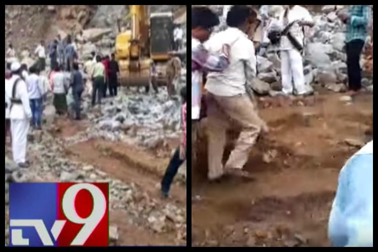 Six Andhra quarry workers dead after being hit by boulders