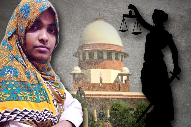 Hadiya in affidavit to SC