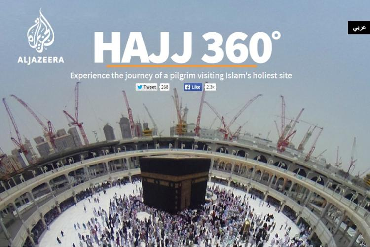 Here is how that amazing 360-degree-view Hajj video was made by Al Jazeera