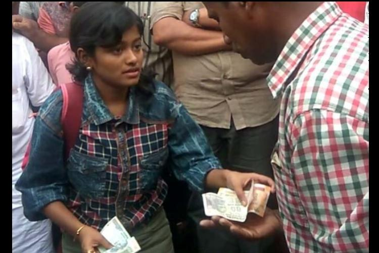 Kerala girl Hanan who was trolled for selling fish meets with car accident