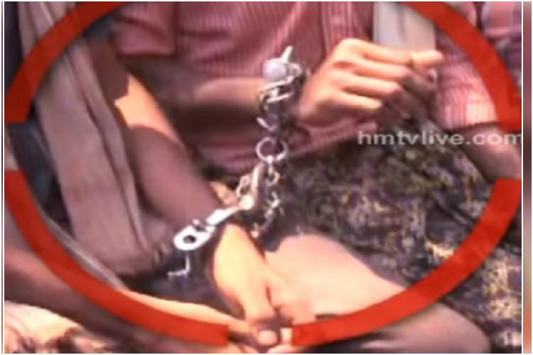 Protesting chilli farmers handcuffed on way to Tgana court did police violate human rights