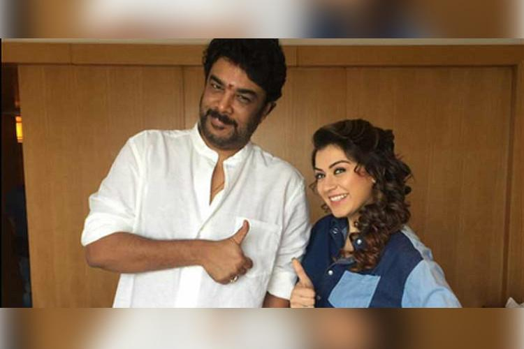 Hansika Motwani in talks for Sundar Cs Sanghamitra