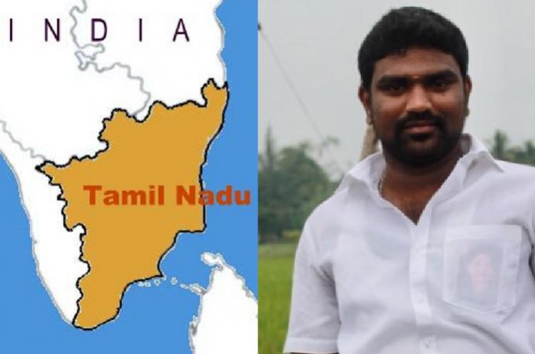 AIADMK IT wing man calls for secession of Tamil Nadu BJP youth leader warns sedition case