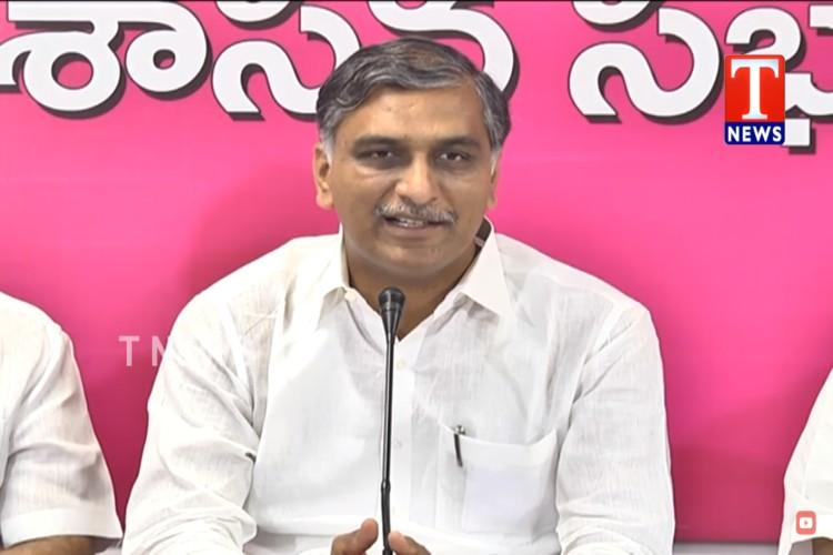My birth was in TRS, my death will be with it': Harish Rao