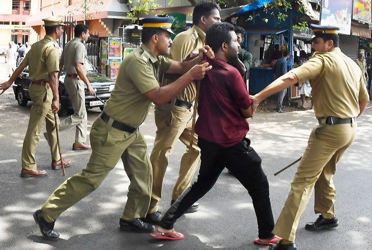 After violence during flash hartal in Kerala Rights Commission seeks inquiry