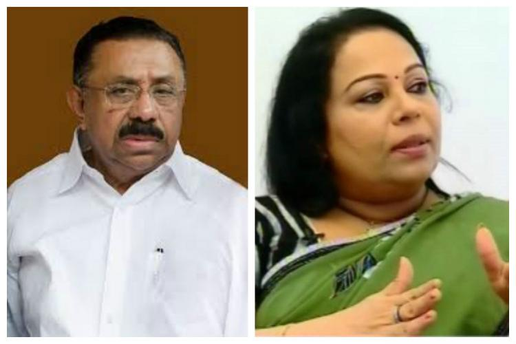 Kerala Womens Commission takes on Congress leader for sexist remark on Sobhana George