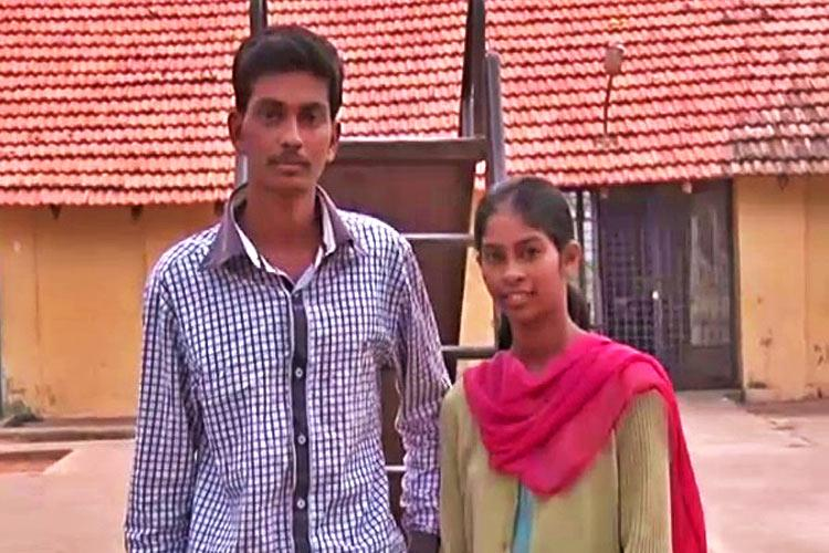 Karnataka separated siblings reunite after 10 years She was sold he was adopted