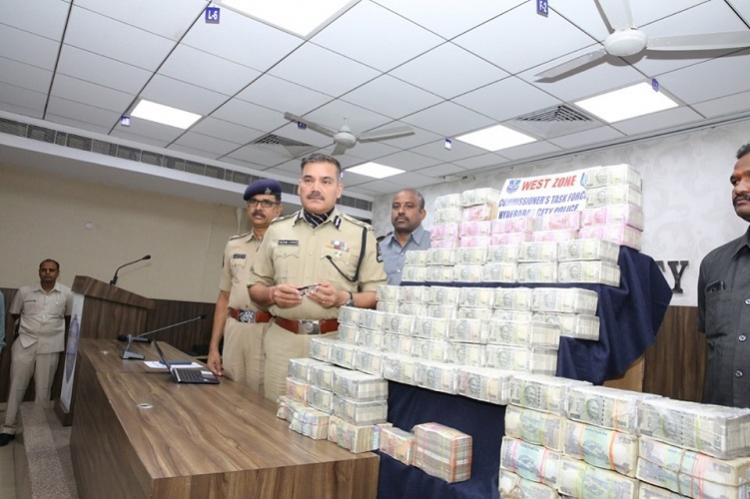 Hawala racket busted by Hyderabad police 7 held with Rs 5 crore in cash