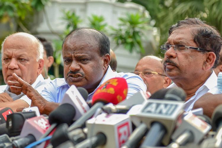Will fight Lok Sabha polls together Ktaka CM dispels rumours of rift with Congress
