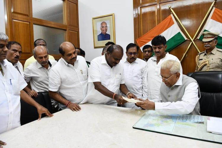 HD Kumaraswamy resigns as Chief Minister of Karnataka after losing trust vote
