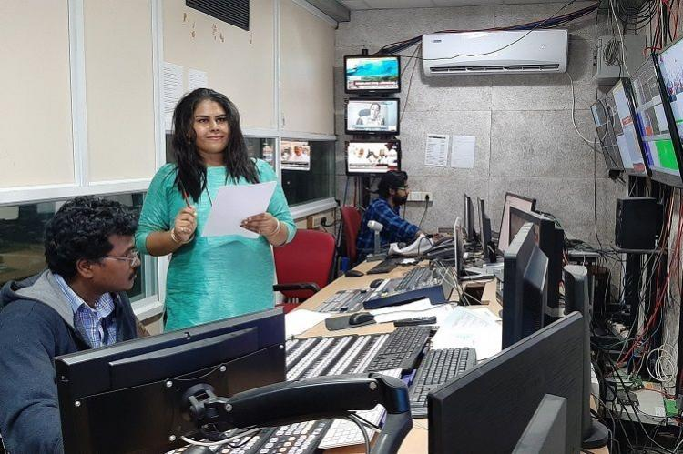 Trans woman journalist Heidi Saadiya makes debut as TV news reporter in Kerala