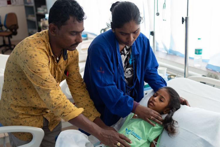 Six-yr-old Akshaya has a life-threatening disease and you can help her survive