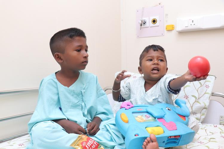 Both these kids have a rare blood disorder and your donation could help save their lives