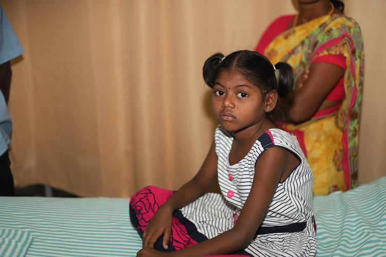 7-yr-old Selvi may not live without a bone-marrow transplant her poor parents cant afford it