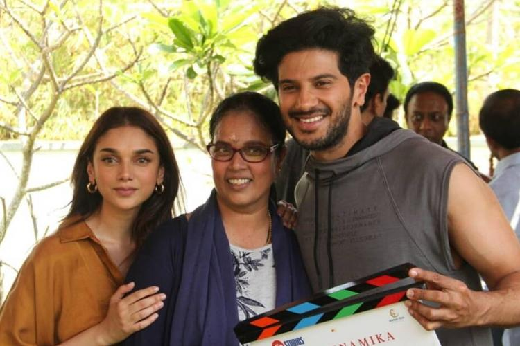 Dulquer gets back to work with Hey Sinamika