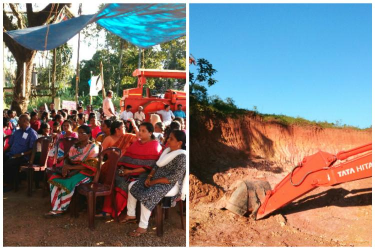 Razing a hillock for greed Kerala village unites to save their land