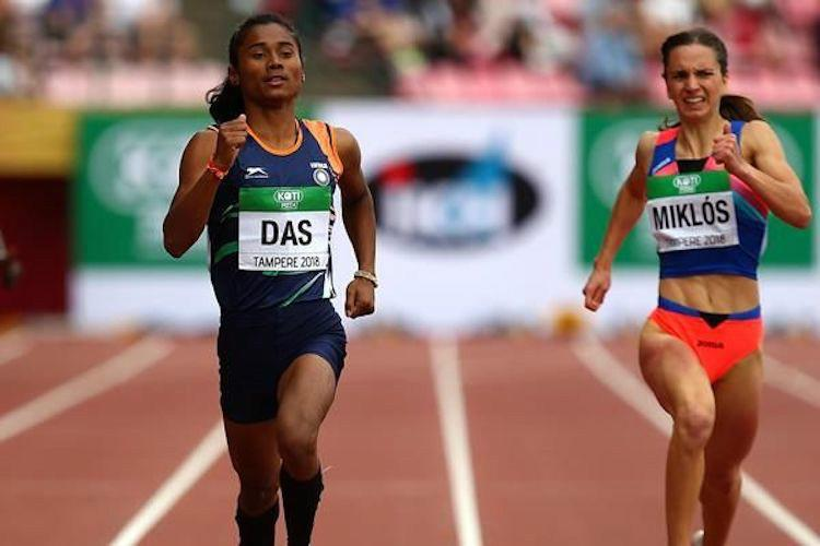 Indias new sporting star Charting athlete Hima Das meteoric rise to the top