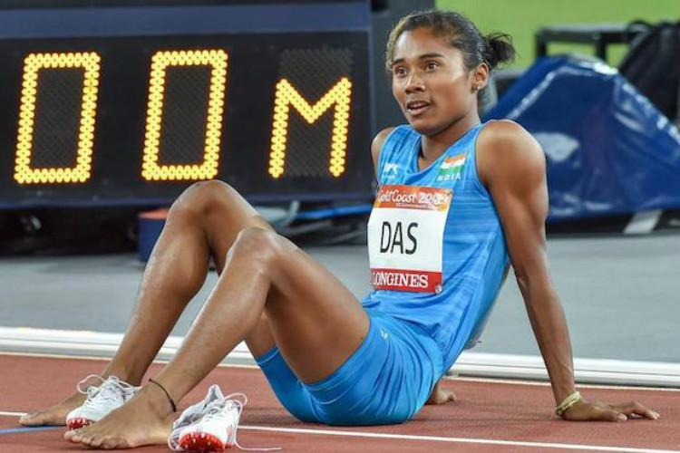 U-20 World Athletics Hima Das becomes 1st Indian to win gold at track event
