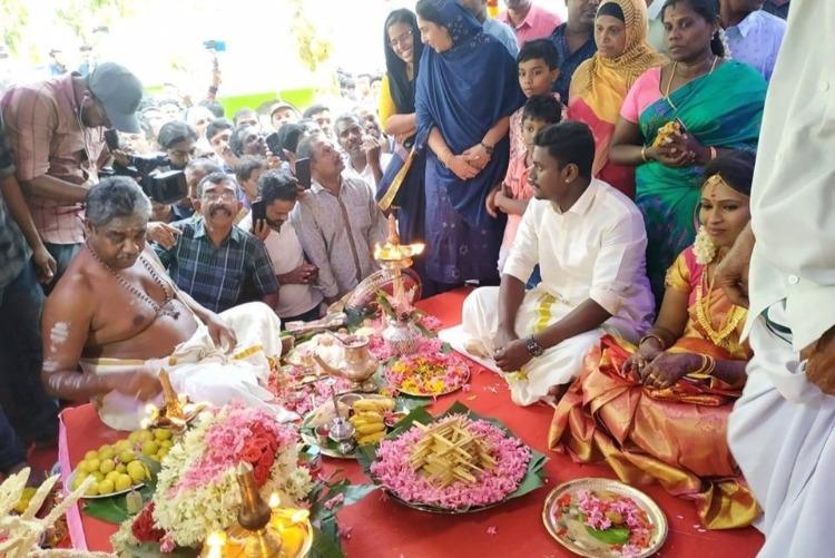 Kerala mosque hosts Hindu couples wedding Pinarayi lauds move