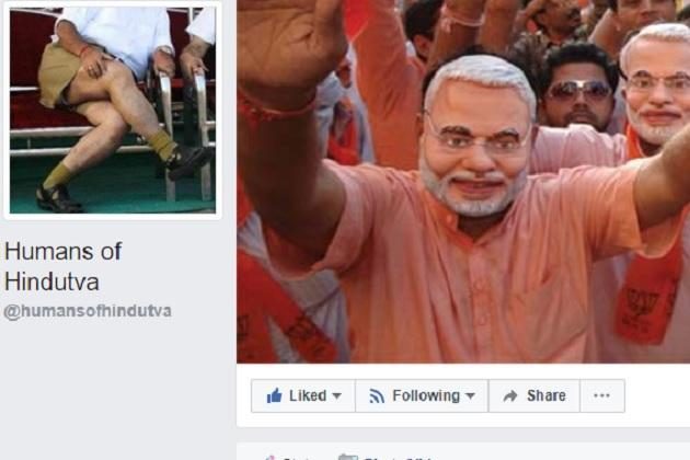 Humans of Hindutva admin deletes FB page after alleged phone call threats