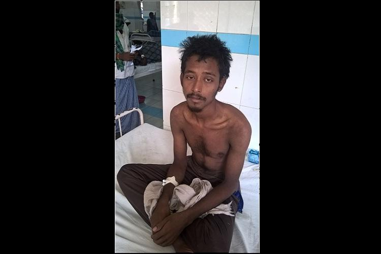 Homeless man spends 12 days at sea without food or water reaches Andhra Pradesh