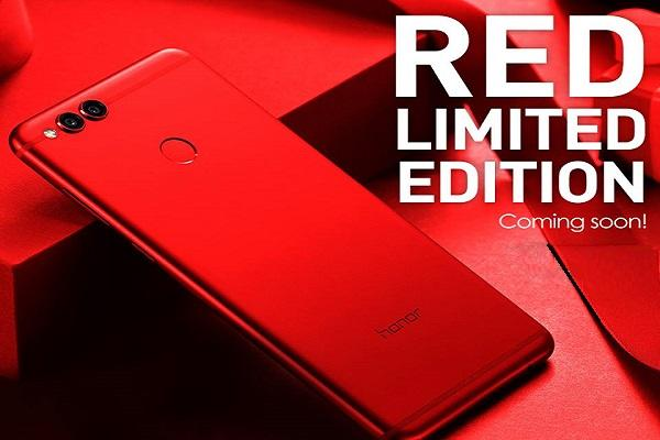 Huawei launches Honor 7X Red Limited Edition in India