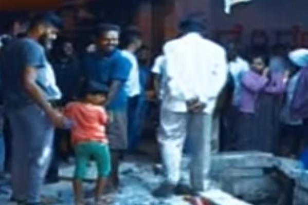 Gas line leaks and explodes in Bengaluru during underground drilling work 1 injured