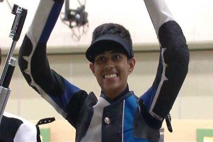 Shooting Worlds Hriday Hazarika wins mens junior 10m air rifle gold